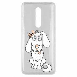 Чехол для Xiaomi Mi9T Dog with a bow