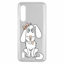 Чехол для Xiaomi Mi9 Lite Dog with a bow