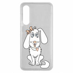 Чехол для Xiaomi Mi9 SE Dog with a bow