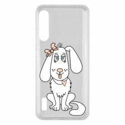 Чохол для Xiaomi Mi A3 Dog with a bow