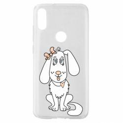 Чехол для Xiaomi Mi Play Dog with a bow