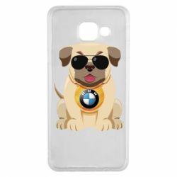 Чохол для Samsung A3 2016 Dog with a collar BMW