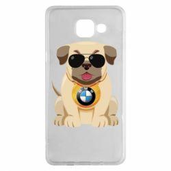 Чохол для Samsung A5 2016 Dog with a collar BMW