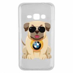 Чохол для Samsung J1 2016 Dog with a collar BMW