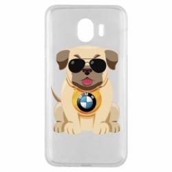 Чохол для Samsung J4 Dog with a collar BMW