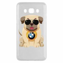 Чохол для Samsung J5 2016 Dog with a collar BMW