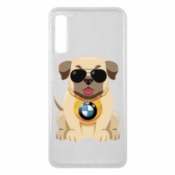 Чохол для Samsung A7 2018 Dog with a collar BMW