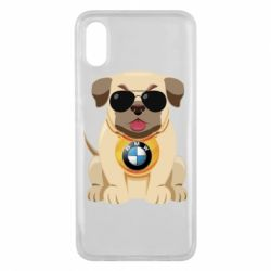 Чохол для Xiaomi Mi8 Pro Dog with a collar BMW