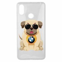 Чохол для Xiaomi Mi Max 3 Dog with a collar BMW