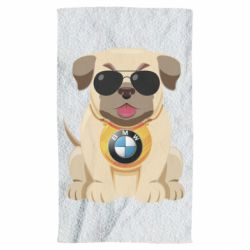 Рушник Dog with a collar BMW