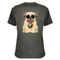 Камуфляжна футболка Dog with a collar BMW