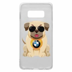 Чохол для Samsung S10e Dog with a collar BMW