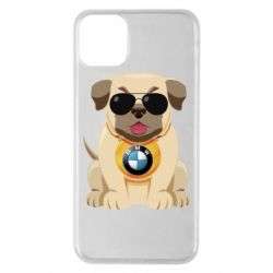 Чохол для iPhone 11 Pro Max Dog with a collar BMW
