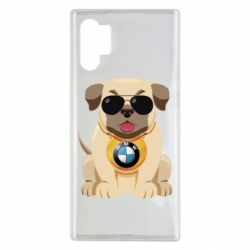 Чохол для Samsung Note 10 Plus Dog with a collar BMW