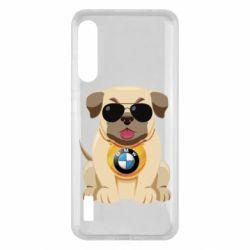 Чохол для Xiaomi Mi A3 Dog with a collar BMW