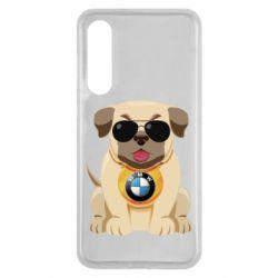 Чохол для Xiaomi Mi9 SE Dog with a collar BMW
