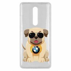 Чохол для Xiaomi Mi9T Dog with a collar BMW