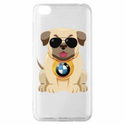 Чохол для Xiaomi Redmi Go Dog with a collar BMW