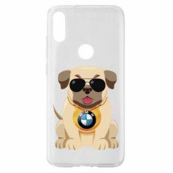 Чохол для Xiaomi Mi Play Dog with a collar BMW