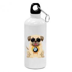 Фляга Dog with a collar BMW