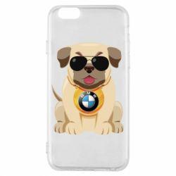 Чохол для iPhone 6/6S Dog with a collar BMW
