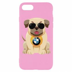 Чохол для iPhone 7 Dog with a collar BMW
