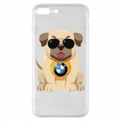 Чохол для iPhone 8 Plus Dog with a collar BMW
