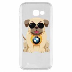 Чохол для Samsung A5 2017 Dog with a collar BMW