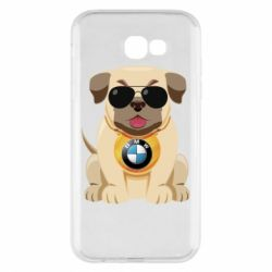 Чохол для Samsung A7 2017 Dog with a collar BMW