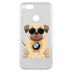 Чохол для Xiaomi Mi A1 Dog with a collar BMW