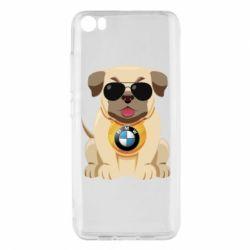 Чохол для Xiaomi Mi5/Mi5 Pro Dog with a collar BMW