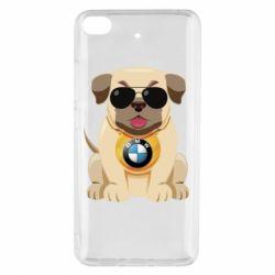 Чохол для Xiaomi Mi 5s Dog with a collar BMW