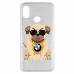 Чохол для Xiaomi Mi8 Dog with a collar BMW