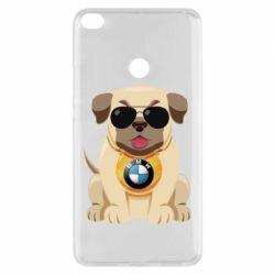 Чохол для Xiaomi Mi Max 2 Dog with a collar BMW