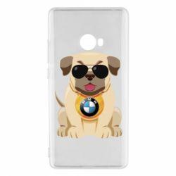 Чохол для Xiaomi Mi Note 2 Dog with a collar BMW