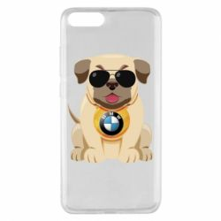 Чохол для Xiaomi Mi Note 3 Dog with a collar BMW