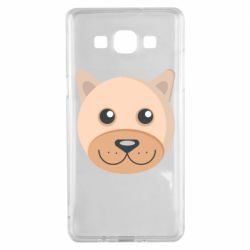 Чехол для Samsung A5 2015 Dog with a smile