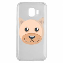 Чехол для Samsung J2 2018 Dog with a smile