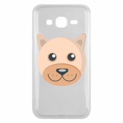 Чехол для Samsung J5 2015 Dog with a smile