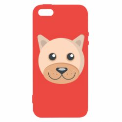 Чехол для iPhone5/5S/SE Dog with a smile