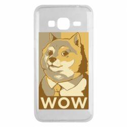 Чохол для Samsung J3 2016 Doge wow meme