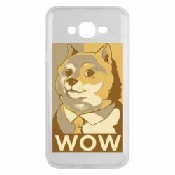 Чохол для Samsung J7 2015 Doge wow meme
