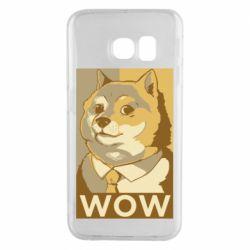 Чохол для Samsung S6 EDGE Doge wow meme