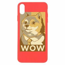 Чохол для iPhone Xs Max Doge wow meme