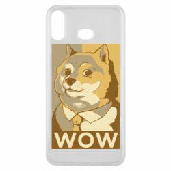 Чохол для Samsung A6s Doge wow meme