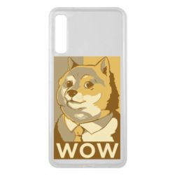 Чохол для Samsung A7 2018 Doge wow meme
