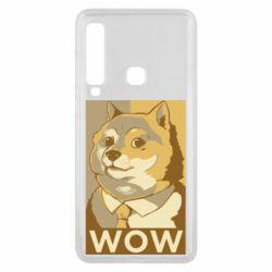 Чохол для Samsung A9 2018 Doge wow meme