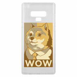 Чохол для Samsung Note 9 Doge wow meme
