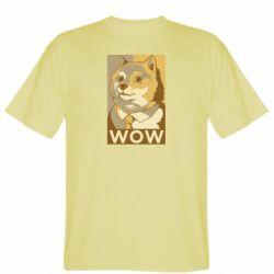 Чоловіча футболка Doge wow meme