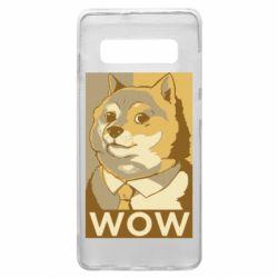 Чохол для Samsung S10+ Doge wow meme